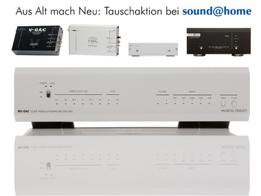 Musical Fidelity MX-DAC Tauschaktion