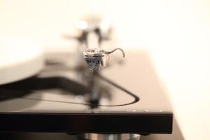 Detail Plattenspieler Tonabnehmer