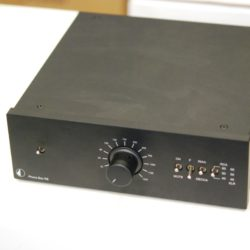 Pro-Ject Phono Box RS, schwarz, Ausstellungsgerät