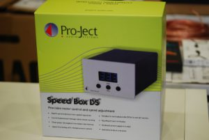 Pro-Ject Speed Box DS, silber