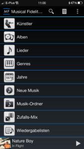 Musical Fidelity Encore225 App