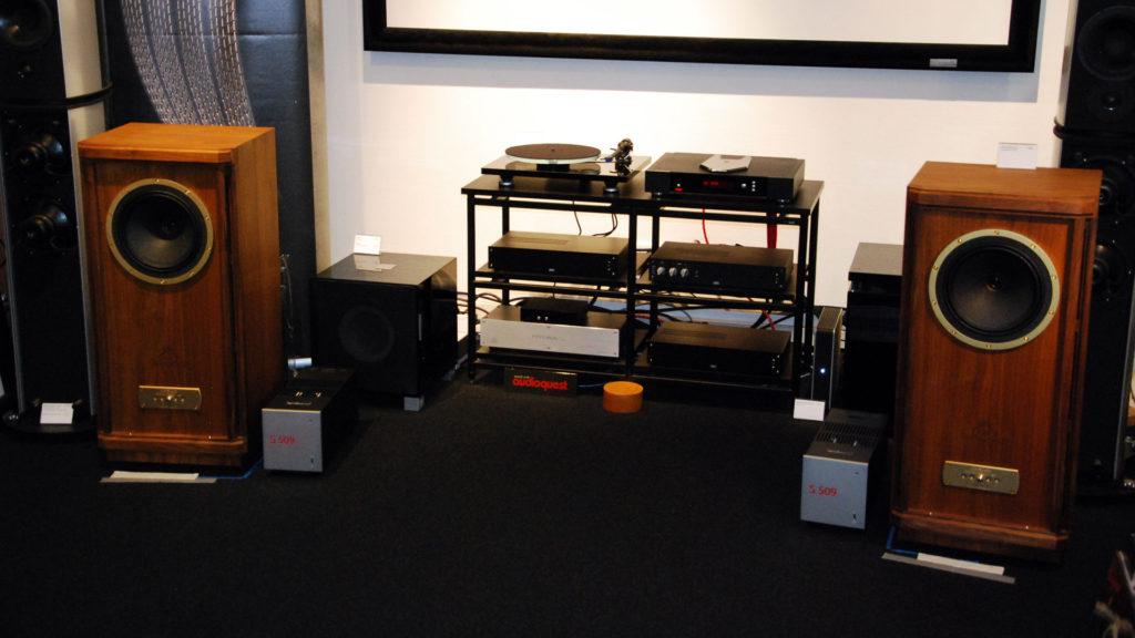 Tannoy Stirling GR mit Rega Saturn R, Rega Planar3 und Croft RIAA, Micro25 und Series7