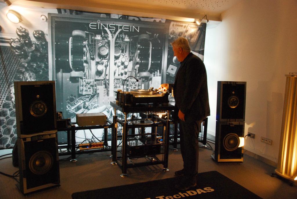 Einstein Audio große Kette: Volker Bohlmeier legt auf