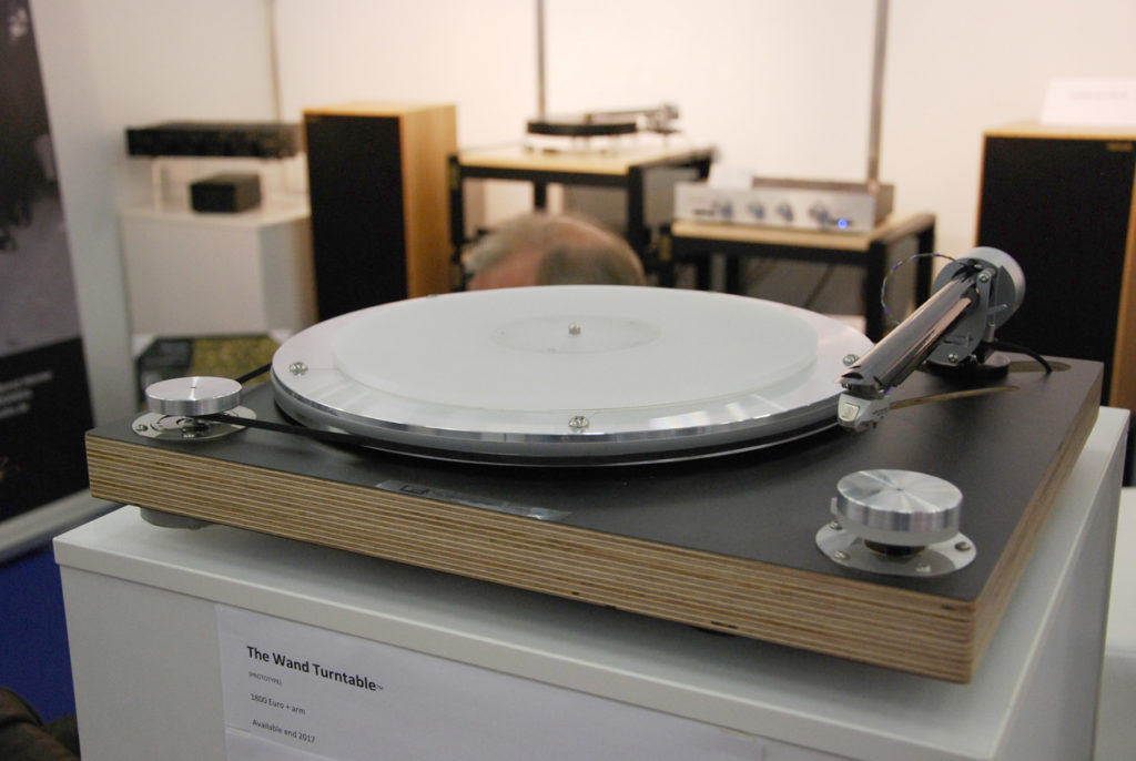 Wand Turntable Prototyp