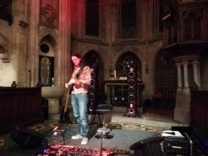 Jan Henning spielt in der Katharinenkirche über Triangle Concerto und Musical Fidelity NuVista
