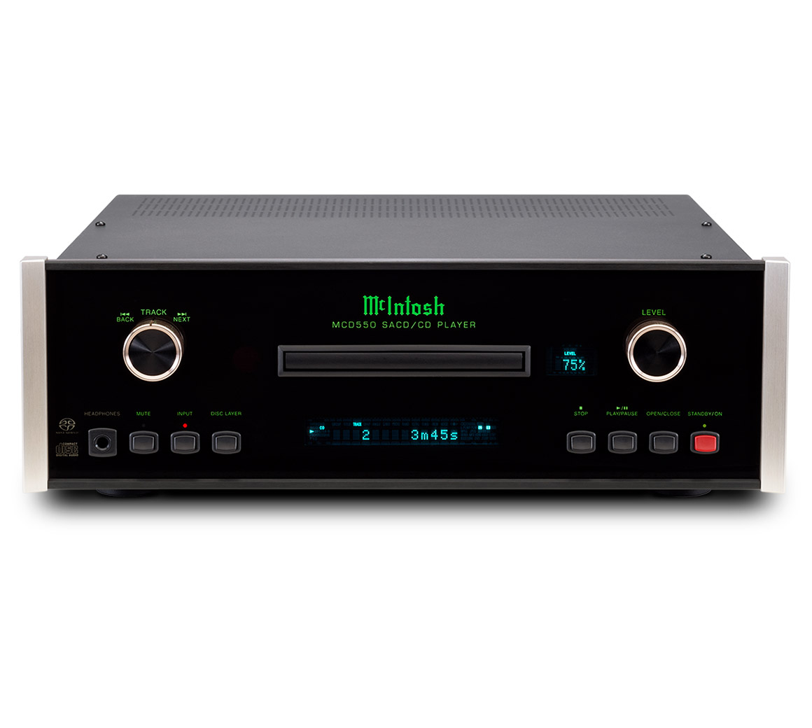 McIntosh MCD550AC SACD/CD-Player
