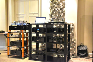 Viva Audio Elektronik Setup mit Numerico DAC
