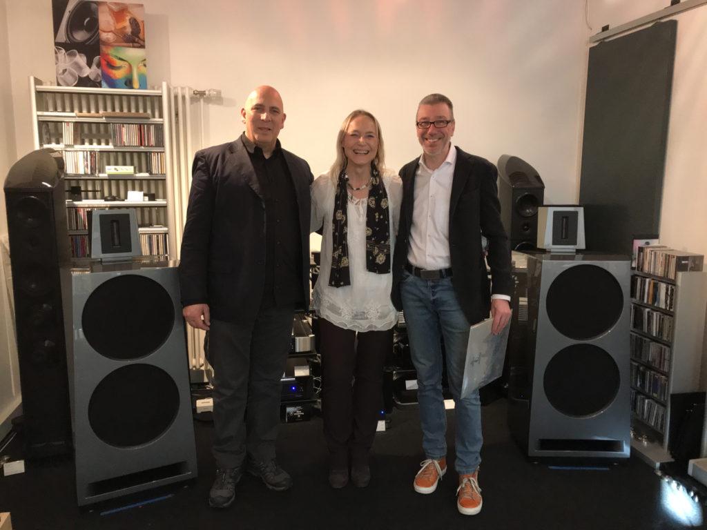 Viva Audio: Giampietro Schembri, Nicole Hannig und Matthias Schneider