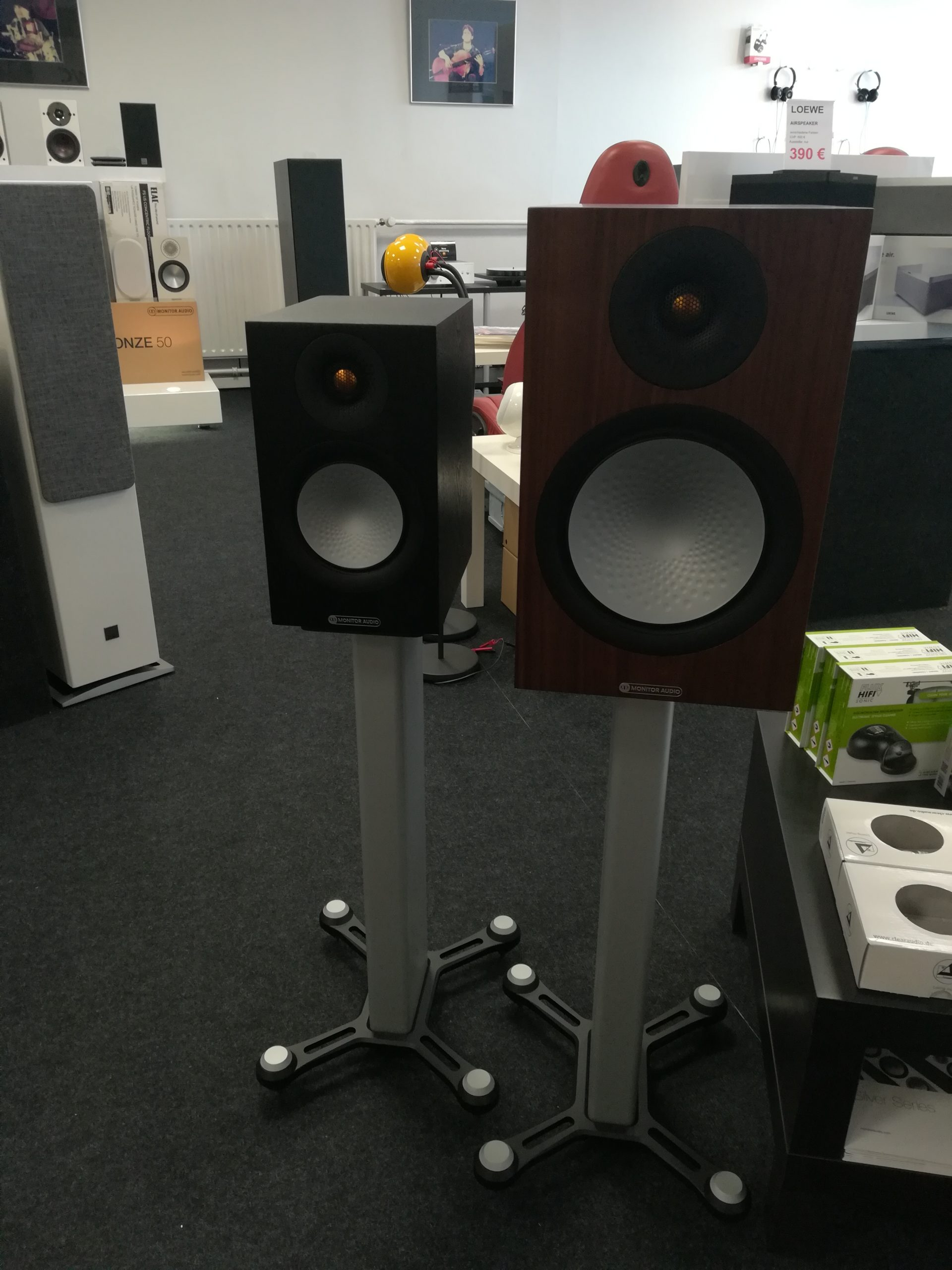 Monitor Audio Silver 100 und Silver 50 7G